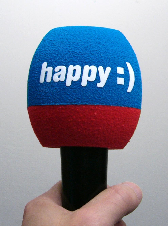 Mic cover Happy TV