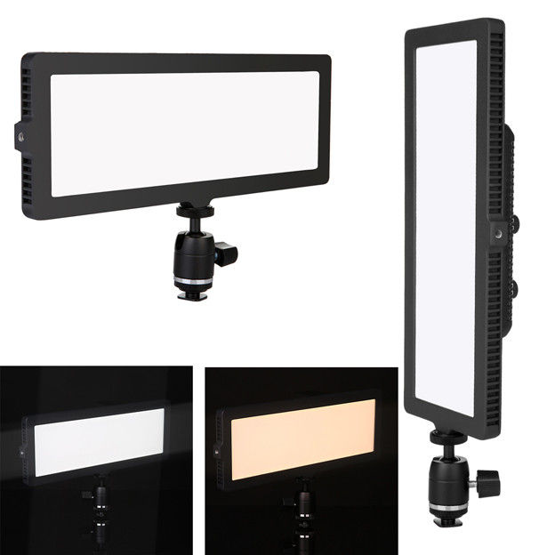 bicolor_edge_soft_led_video_lights_aluminum_solid_stable_led_video_lighting_kits