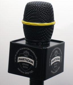 Mic Cube Partizan iznad svih