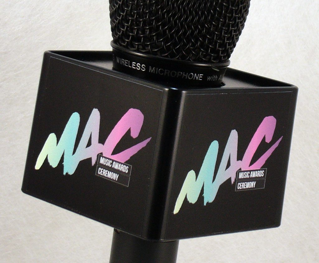 Mic Cube Black Colour MAC
