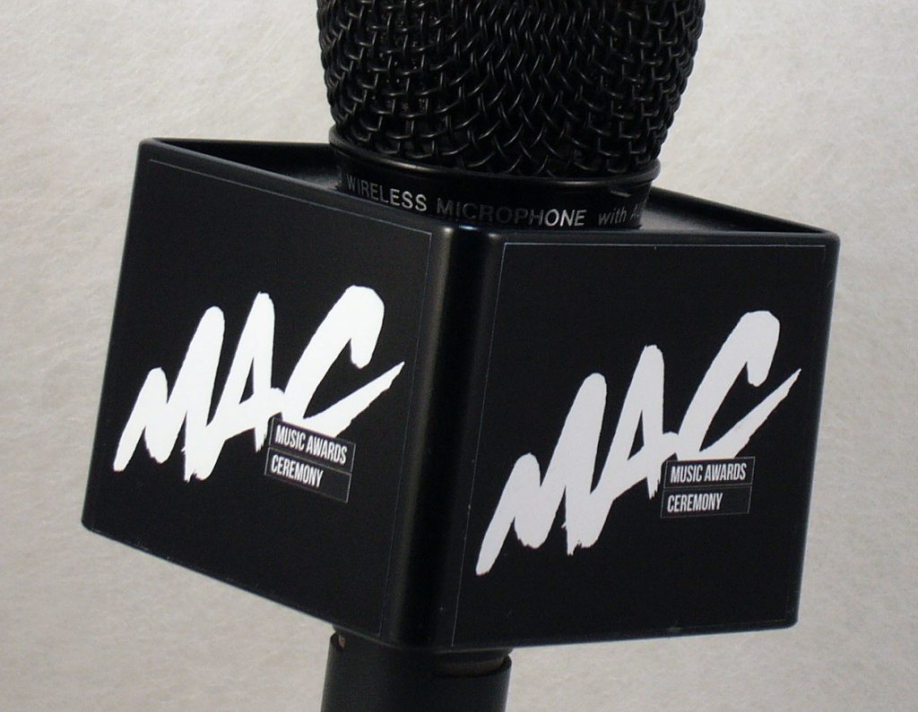 Mic Cube Black White MAC