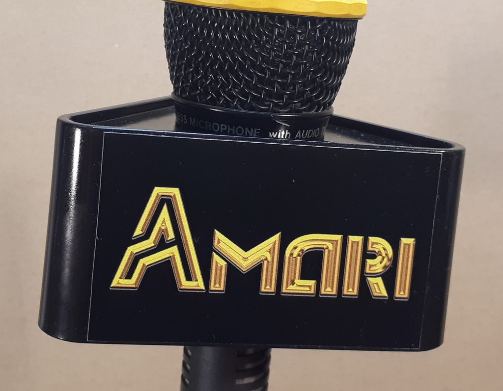 Mic Triangle Black AMARI