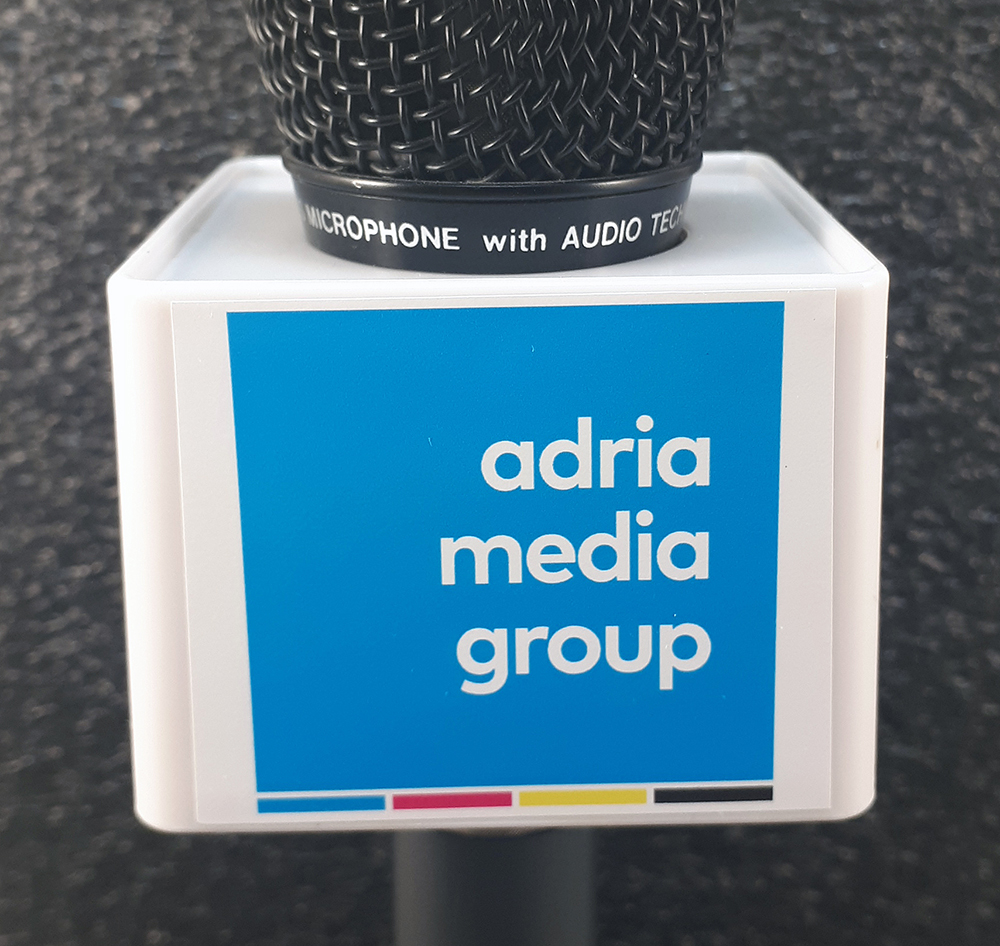 Adria Media Mic Cube