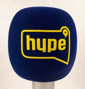 Mic cover Hype TV Blue