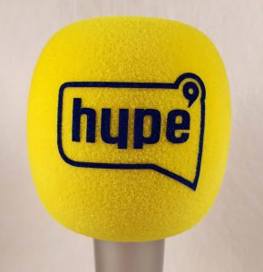 Mic cover Hype TV Yellow